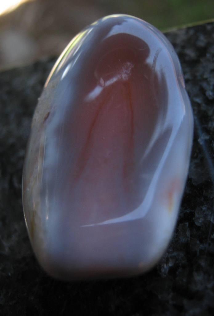 30d466b58b381 Achát růžový - tromlovaný kámen. Číslo výrobku: