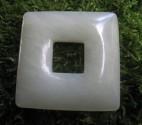 Jadeit - donuta čtvercová 4,4