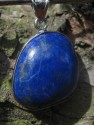 Lapis lazuli - přívěsek medailon