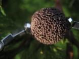Sopečný tuf barvený - náhrdelník krátký