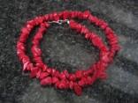 Korál červený - náhrdelník