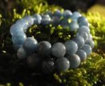 Akvamarín - náramek z kuliček 5