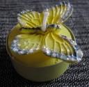 Svíčka - motýl žlutý