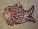 Ryba Rusalka keramická