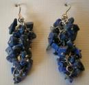 Lapis lazuli - náušnice