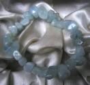 Akvamarín - náramek