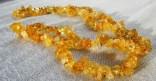 Citrín - náhrdelník krátký