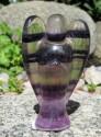 Fluorit duhový - anděl 4,9
