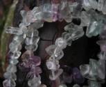 Fluorit zelený - náhrdelník krátký