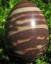 Jaspis zebrový - vejce