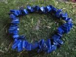 Lapis lazuli – náramek ze sekaných kamenů