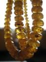 Mandarín - náhrdelník krátký tvořený facetovanými rondelkami