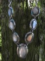 Paua mušle - souprava náhrdelník - náramek