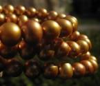 Perly zlaté - náhrdelník