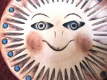 Slunce keramické 15