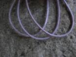Šňůrka látková - fialová