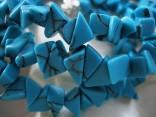 Tyrkenit - náhrdelník krátký ze sekaných kamenů