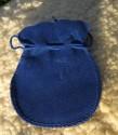Váček na kameny modrý